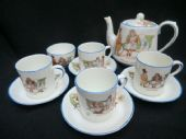 CAREWORN PARAGON Star China part Childs tea set - nursery ware